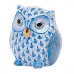 Herend - Owlet Blue Fishnet